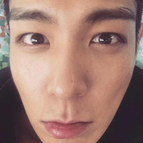 BIGBANG'den T.O.P'nin makyajsız hali