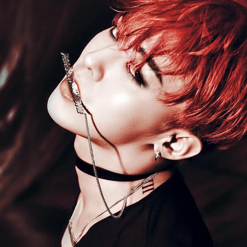 BIGBANG'den G-Dragon'un makyajlı hali