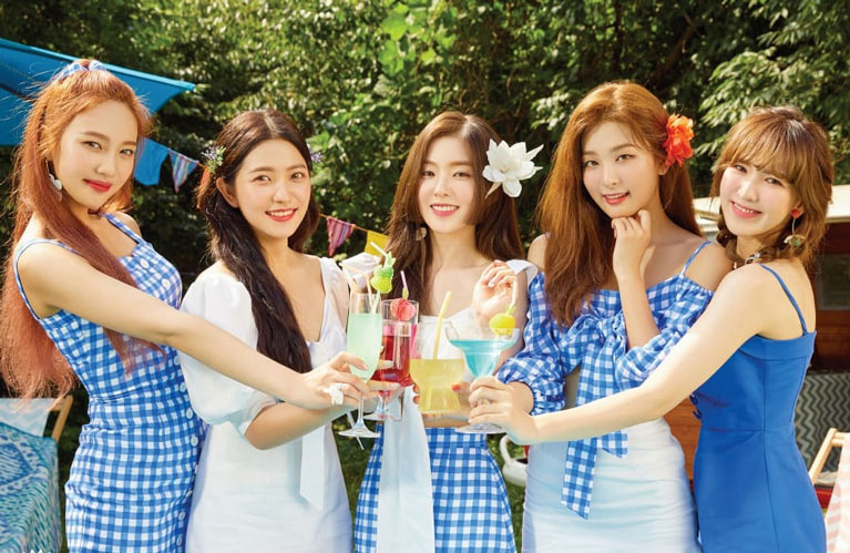 Red Velvet Power Up klibi