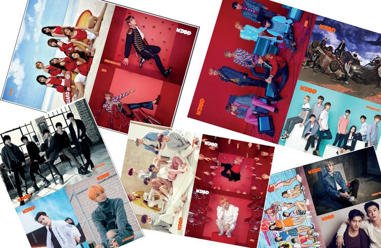 K-Pop & Drama Dergisi'nin 4. sayısındaki posterler