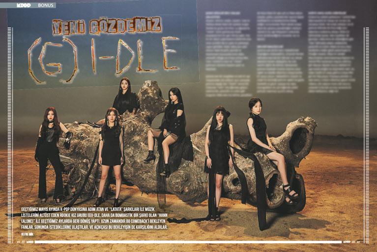 K-Pop & Drama Dergisi'nin 5. sayısı - (G)I-DLE hakkında bilinmesi gerekenler