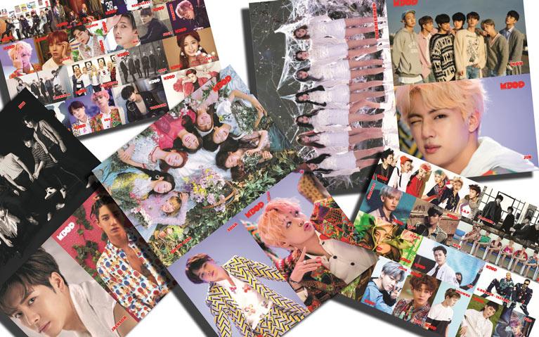 K-Pop & Drama Dergisi'nin 5. sayısında hangi poster ve stickerlar var