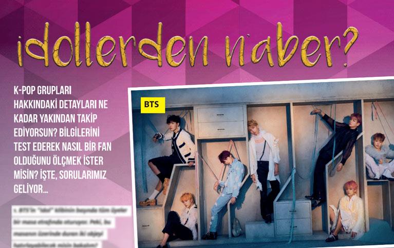 K-Pop & Drama Dergisi'nin 6. sayısında yer alan test konusu