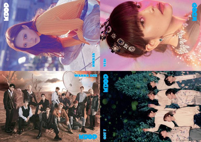 K-Pop & Drama Dergisi'nin altıncı sayısında yer alan posterler