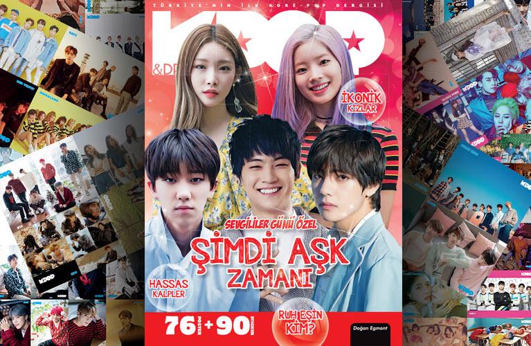 K-Pop & Drama Dergisi Sevgililer Günü sayısı çıktı bile