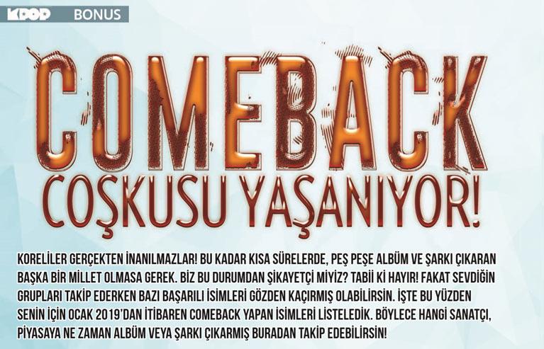 Comeback Rehberi