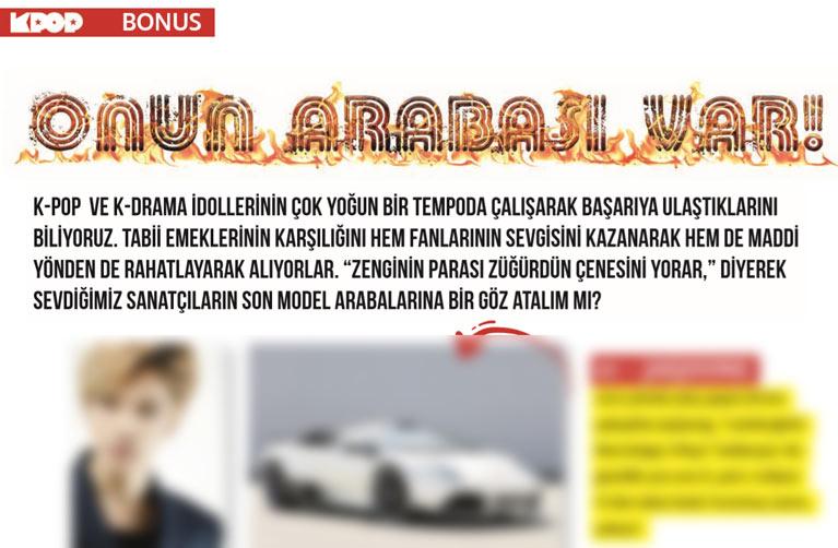 K-Pop&Drama Dergisi 7. sayısı