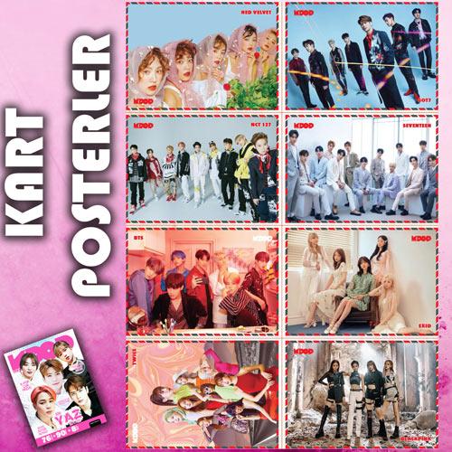 K-Pop&Drama Dergisi Yaz Özel kart-posterleri