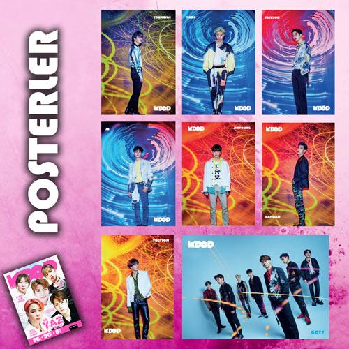 K-Pop&Drama Dergisi Yaz Özel posterleri