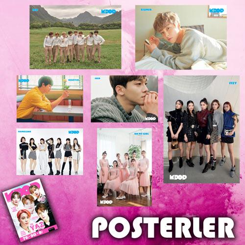 KPop Dergi Yaz Özel Sayısı posterleri