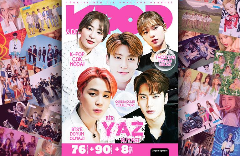K-Pop&Drama Dergisi'nin 2019 Yaz Özel Sayısı