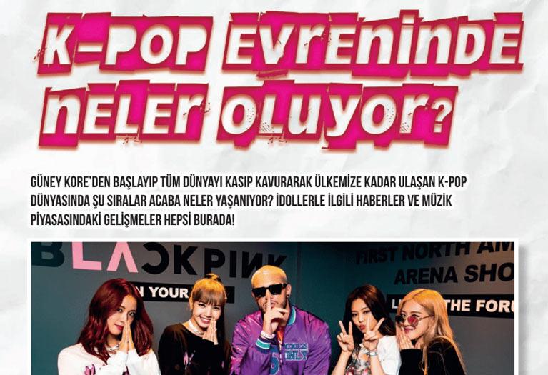 K-Pop&Drama Dergisi'nin Yaz Özel Sayısı K-Pop Haberleri