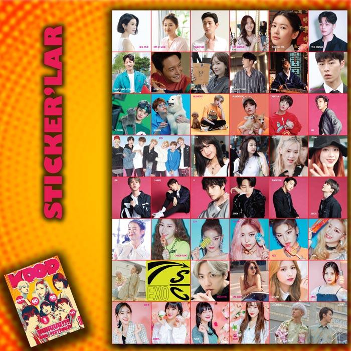 İdol Festivali Özel Sayısı sticker'ları