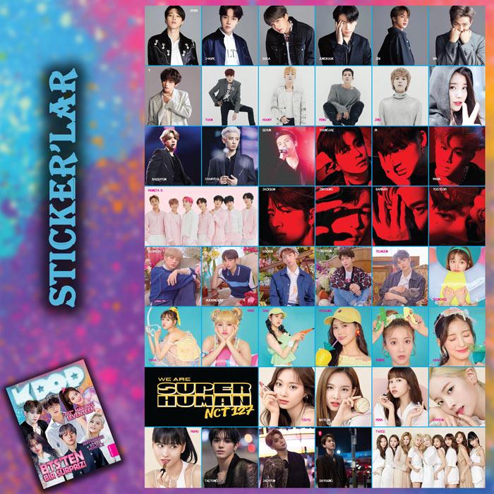 10. sayıdaki stickerlar