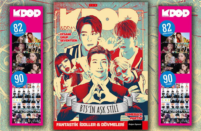 Photo of K-Pop&Drama Dergisi'nin 15. Sayısı Çıktı!